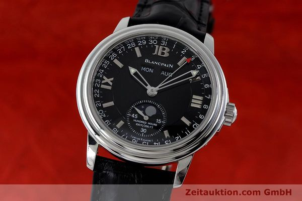 BLANCPAIN LEMAN VOLL KALENDER MONDPHASE AUTOMATIK HUNDRED HOURS VP: 9220,- EUR [151885]