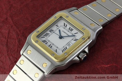 CARTIER SANTOS ACIER / OR AUTOMATIQUE KAL. 077 ETA 2671 LP: 7100EUR [151888]