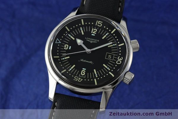 LONGINES LEGEND DIVER STEEL AUTOMATIC KAL. L.633.5 ETA 2824-2 LP: 1850EUR [151892]