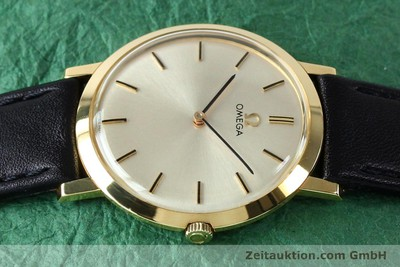 OMEGA 18 CT GOLD MANUAL WINDING KAL. 620 VINTAGE [151896]