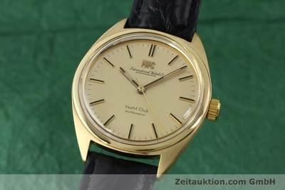 IWC YACHTCLUB OR 18 CT AUTOMATIQUE KAL. 854 [151898]