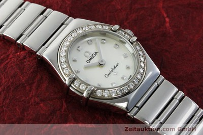 OMEGA CONSTELLATION ACIER QUARTZ KAL. 1456 LP: 3900EUR [151912]