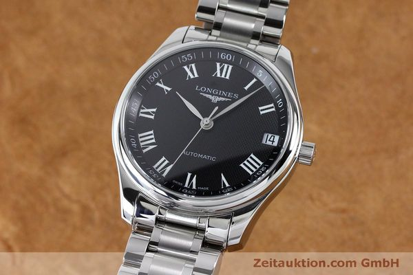LONGINES MASTER COLLECTION ACIER AUTOMATIQUE KAL. LG91.2 LP: 2590EUR [151924]