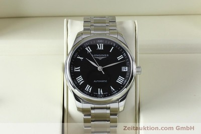 LONGINES MASTER COLLECTION STEEL AUTOMATIC KAL. LG91.2 LP: 2590EUR [151924]
