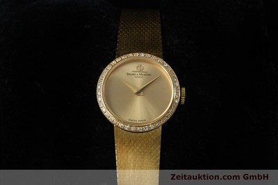 BAUME & MERCIER 18 CT GOLD MANUAL WINDING KAL. BM 777 LP: 8550EUR [151926]