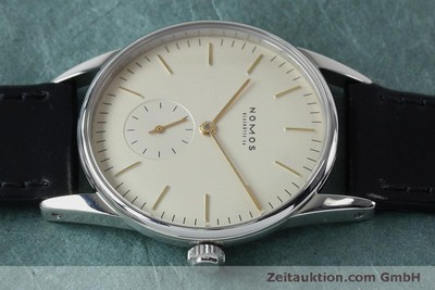 NOMOS ORION STEEL MANUAL WINDING KAL. ETA 7001 LP: 1400EUR [151932]