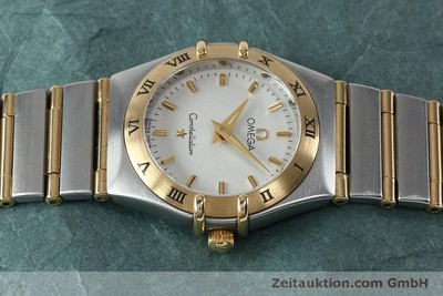 OMEGA LADY CONSTELLATION GOLD / STAHL DAMENUHR VP: 3960,- EURO [151936]