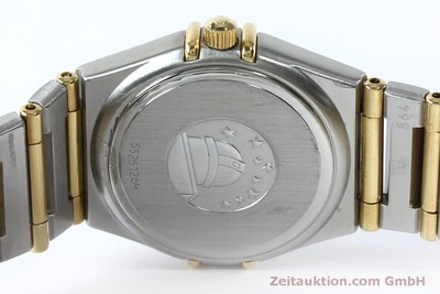 OMEGA CONSTELLATION STEEL / GOLD QUARTZ KAL. 1456 LP: 3960EUR [151936]