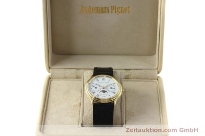 AUDEMARS PIGUET DAY-DATE MOONPHASE OR 18 CT AUTOMATIQUE KAL. 2124 [151941]