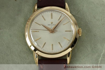 ZENITH 18 CT GOLD MANUAL WINDING KAL. 126-5-6 LP: 7400EUR VINTAGE [151943]
