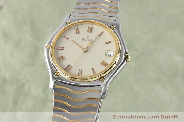 EBEL CLASSIC WAVE HERRENUHR GOLD / STAHL CLASSICWAVE MEDIUM VP: 2470,- EURO [151945]