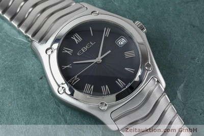 EBEL CLASSIC WAVE STEEL QUARTZ KAL. 187-2 LP: 1750EUR [151947]