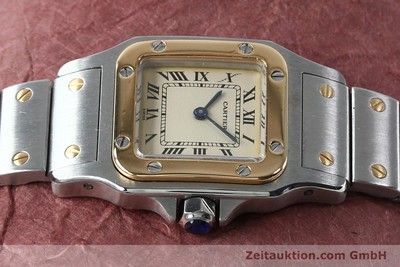 CARTIER SANTOS STEEL / GOLD QUARTZ KAL. 057 LP: 5600EUR [151960]