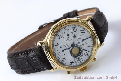 CHRONOSWISS A. ROCHAT CHRONOGRAPH GOLD-PLATED AUTOMATIC KAL. VAL 7750 [151986]