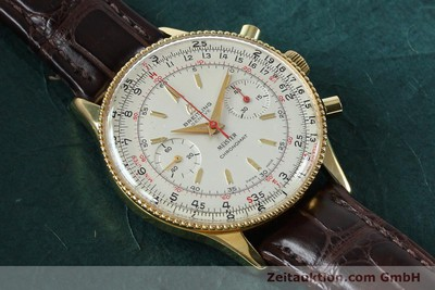 BREITLING CHRONOMAT CHRONOGRAPH GOLD-PLATED MANUAL WINDING KAL. VENUS 175 VINTAGE [151987]
