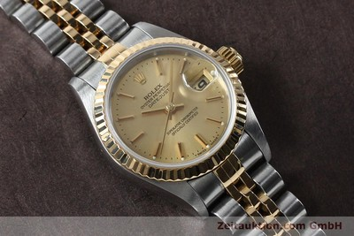ROLEX LADY DATEJUST STEEL / GOLD AUTOMATIC KAL. 2135 LP: 6950EUR [151994]