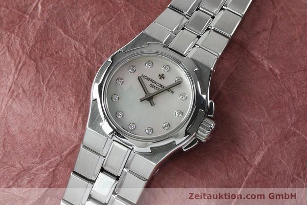 Used luxury watch Vacheron & Constantin Overseas steel quartz Kal. 1016 Ref. 16050/423A  | 151998 01