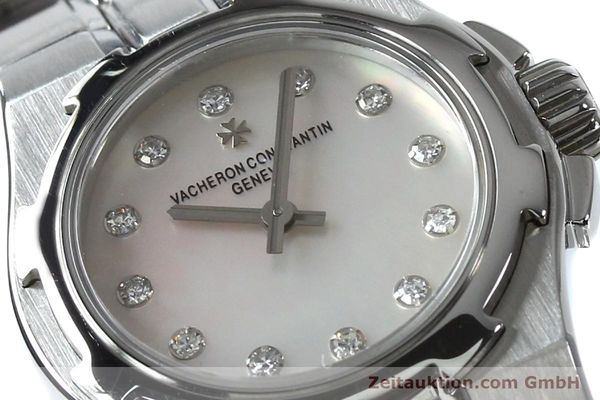 Used luxury watch Vacheron & Constantin Overseas steel quartz Kal. 1016 Ref. 16050/423A  | 151998 02