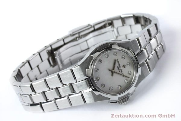 Used luxury watch Vacheron & Constantin Overseas steel quartz Kal. 1016 Ref. 16050/423A  | 151998 03