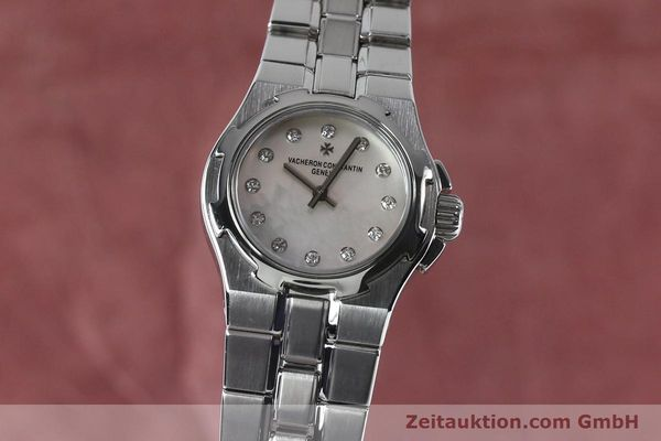 Used luxury watch Vacheron & Constantin Overseas steel quartz Kal. 1016 Ref. 16050/423A  | 151998 04