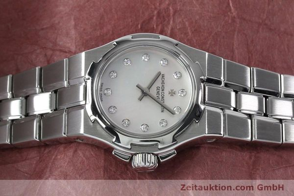 Used luxury watch Vacheron & Constantin Overseas steel quartz Kal. 1016 Ref. 16050/423A  | 151998 05