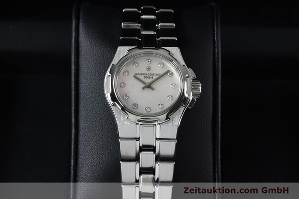 Used luxury watch Vacheron & Constantin Overseas steel quartz Kal. 1016 Ref. 16050/423A  | 151998 07
