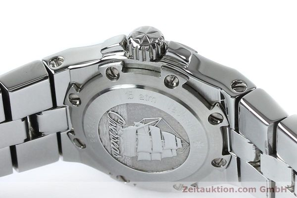 Used luxury watch Vacheron & Constantin Overseas steel quartz Kal. 1016 Ref. 16050/423A  | 151998 08