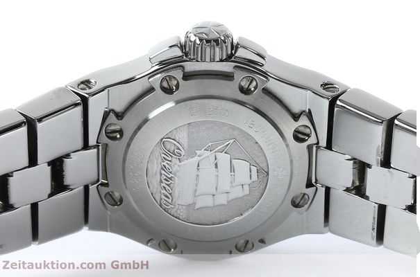 Used luxury watch Vacheron & Constantin Overseas steel quartz Kal. 1016 Ref. 16050/423A  | 151998 09