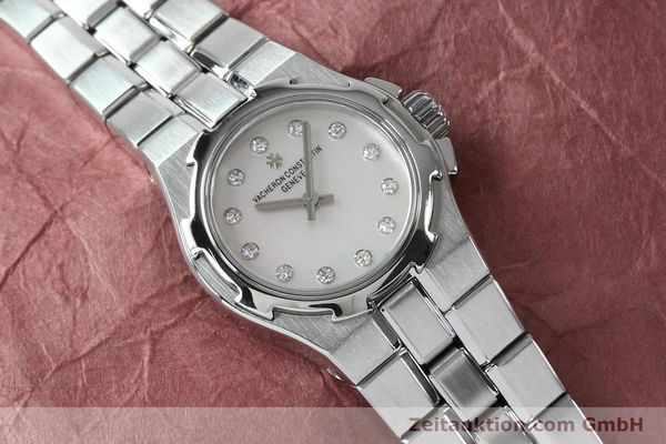 Used luxury watch Vacheron & Constantin Overseas steel quartz Kal. 1016 Ref. 16050/423A  | 151998 13