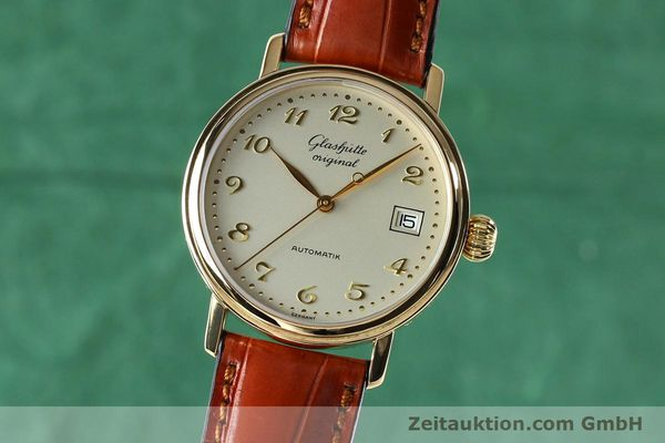GLASHÜTTE SENATOR OR 18 CT AUTOMATIQUE KAL. GUB 10-30 LP: 14100EUR [152002]