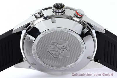 TAG HEUER CARRERA DAY-DATE CHRONOGRAPH AUTOMATIK STAHL CAL 16 NP: 4650,- EURO [152005]
