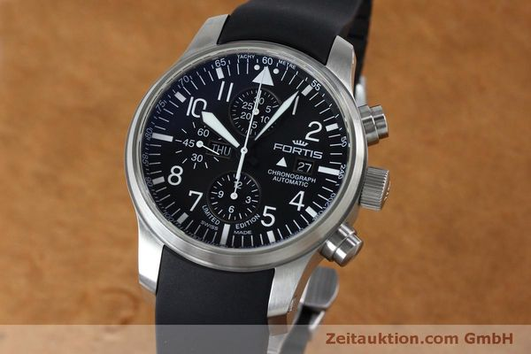 FORTIS F-43 DAY DATE CHRONOGRAPH AUTOMATIK HERRENUHR 701.10.41 NP: 2180,- EURO [152009]