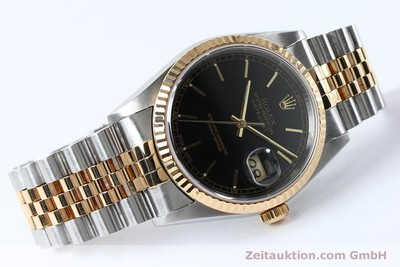 ROLEX DATEJUST STEEL / GOLD AUTOMATIC KAL. 3135 LP: 8800EUR [152017]