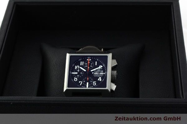 gebrauchte Luxusuhr Fortis Square Chronograph Chronograph Stahl Automatik Ref. 667.10.141  | 152025 07