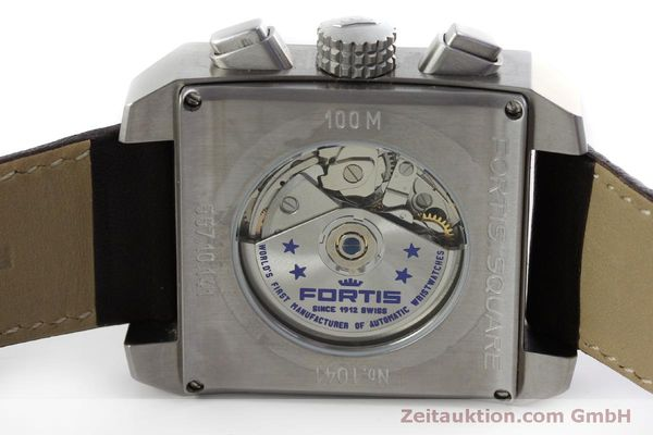 gebrauchte Luxusuhr Fortis Square Chronograph Chronograph Stahl Automatik Ref. 667.10.141  | 152025 09