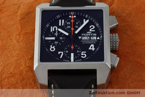 gebrauchte Luxusuhr Fortis Square Chronograph Chronograph Stahl Automatik Ref. 667.10.141  | 152025 14