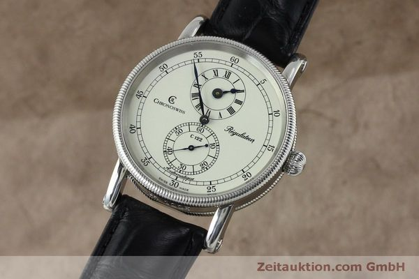 CHRONOSWISS REGULATEUR EDELSTAHL AUTOMATIK CH1223 GLASBODEN LP: 4960,- EURO [152028]
