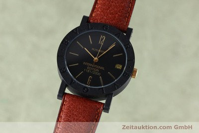 BVLGARI INTERNATIONAL EDITION CARBON / GOLD AUTOMATIC KAL. ETA 2824-2 [152029]