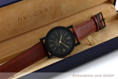 BVLGARI INTERNATIONAL EDITION CARBON GOLD LIMITIERT AUFLAGE AUTOMATIK HERRENUHR [152029]