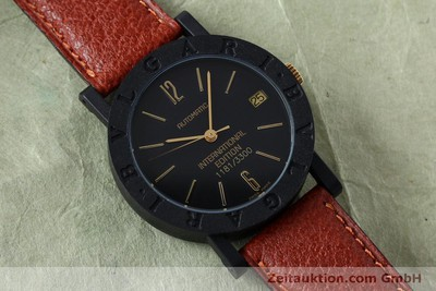 BVLGARI INTERNATIONAL EDITION CARBON / ORO AUTOMÁTICO KAL. ETA 2824-2 [152029]