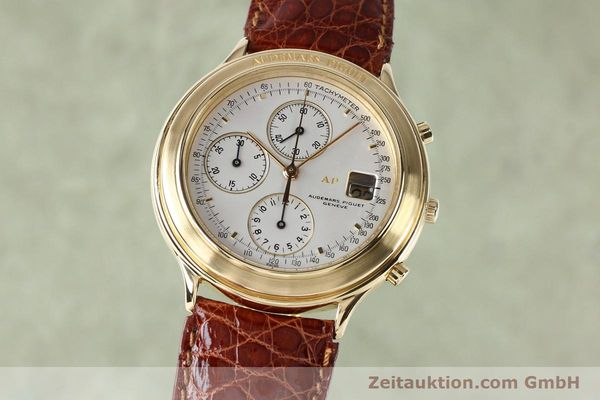 AUDEMARS PIGUET CHRONOGRAPHE OR 18 CT AUTOMATIQUE KAL. 2126 LP: 38900EUR [152033]