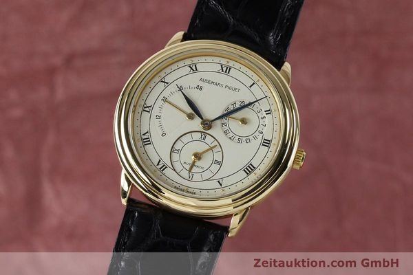 AUDEMARS PIGUET 18K GOLD GMT GANGRESERVE DUAL TIME HERREN D-2983 VP: 29500,- EUR [152034]