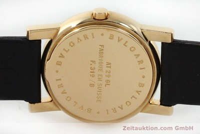 BVLGARI ANFITEATRO 18 CT GOLD QUARTZ [152041]