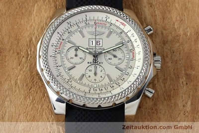 BREITLING FOR BENTLEY MOTORS CHRONOGRAPH AUTOMATIK STAHL A44362 VP: 7750,- EUR [152042]