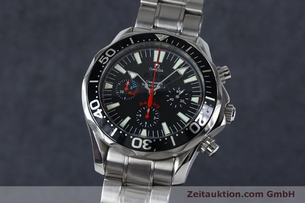 OMEGA SEAMASTER CHRONOGRAPH STEEL AUTOMATIC KAL. 3602 LP: 6500EUR [152045]