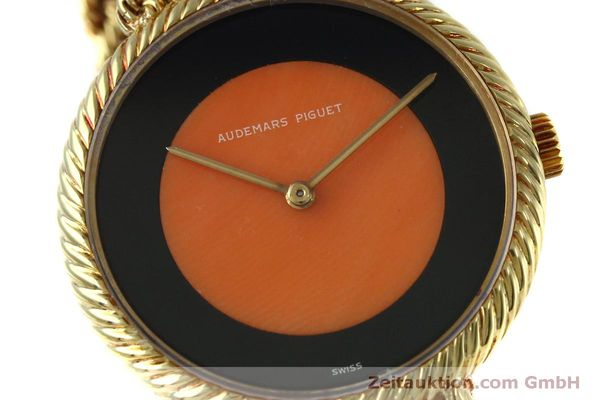 Used luxury watch Audemars Piguet * 18 ct gold manual winding Kal. 2052 Ref. 8660  | 152055 02