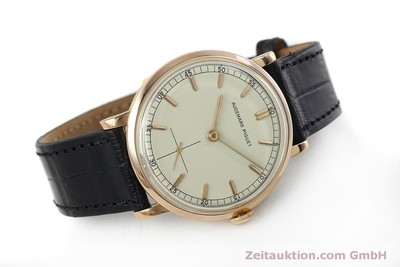 AUDEMARS PIGUET 18 CT RED GOLD MANUAL WINDING LP: 20300EUR VINTAGE [152056]