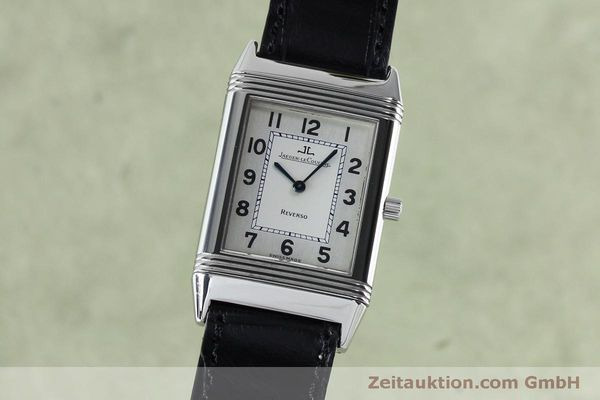 JAEGER LE COULTRE REVERSO STEEL MANUAL WINDING KAL. 646/1 [152062]
