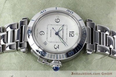 CARTIER PASHA STEEL AUTOMATIC KAL. 191 LP: 5200EUR [152064]