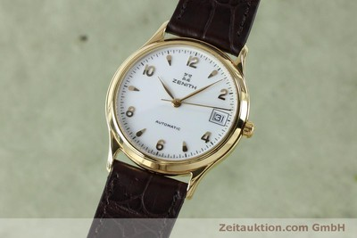 ZENITH 18 CT GOLD AUTOMATIC KAL. ETA 2892A2 LP: 7400EUR [152067]
